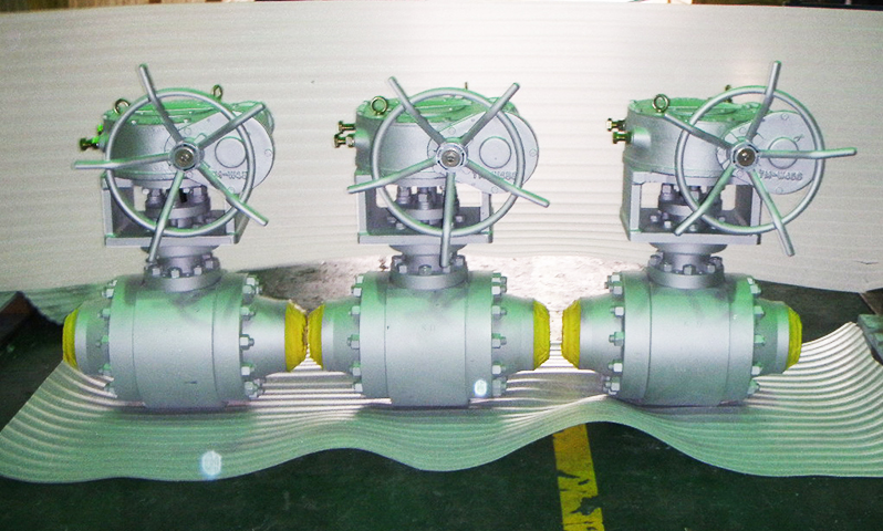 Segment Metal Seated Ball Valve for Powder Line