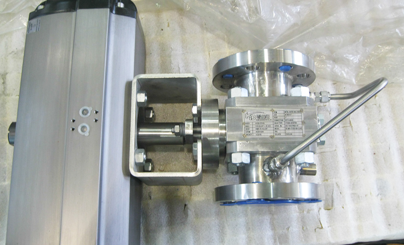 Steam Jacketed Metal Seated Ball Valve for high performance