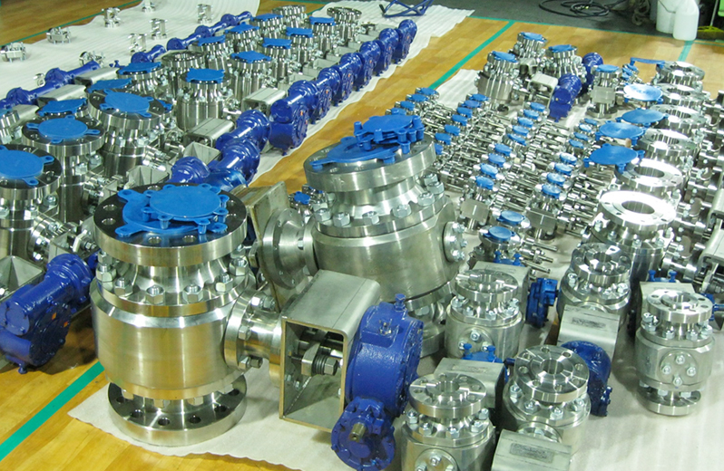 Metal Seated Ball Valve for Polysilicon Industries